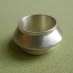 Ring Silber gegossen