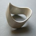 Ring Silberblech